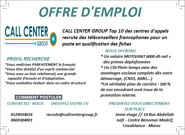 centre d u0026 39 appel call center group