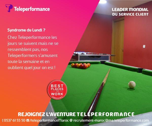 centre d u0026 39 appel teleperformance